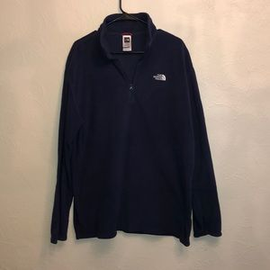 The NorthFace Men's XL/TG Navy Pullover
